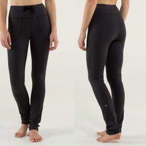 Lululemon Skinny Will Pant Wee Stripe Black 6 B452